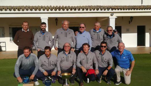 La Cañada, campeón de la Liga Provincial Interclubes de Golf