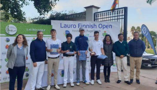 Pedro Marín comienza el año con triunfo en el Lauro Finnish Golf Open