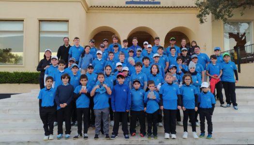 La Escuela de La Cañada Golf comienza el año con emociones fuertes