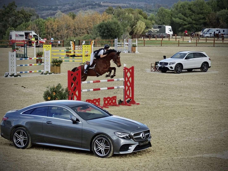 Concurso de saltos en el Santa María Equestrian Club 1