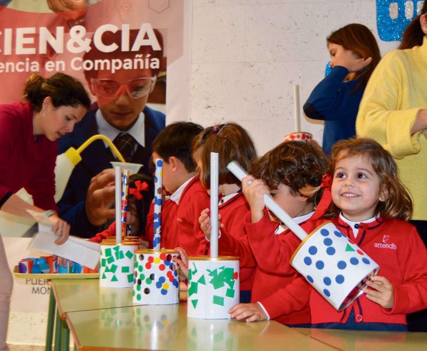 Puertoblanco-Montecalpe, semana de la ciencia.