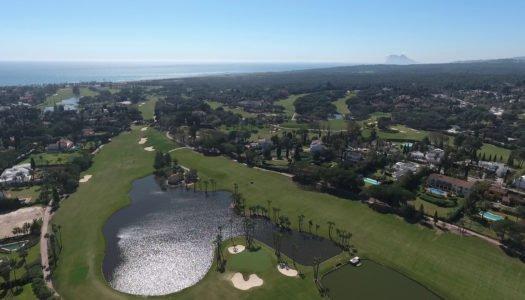 Los campos de golf de Sotogrande abren sus puertas de nuevo