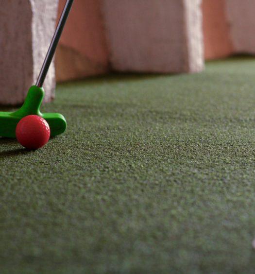 Golf en casa