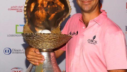 Jorge Campillo gana el Commercial Bank Qatar Masters de Golf