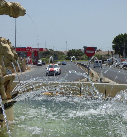 Entrada a Torreguadiaro