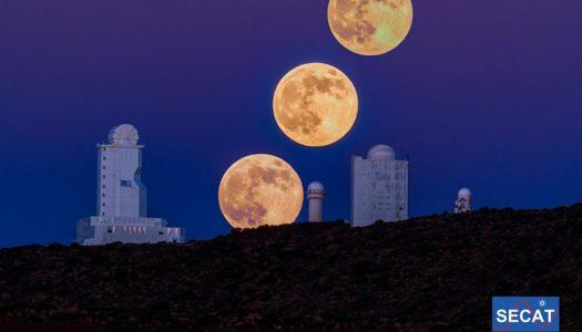 Cómo ver la Superluna de abril desde casa