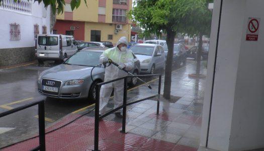 Santa María Polo se suma a las labores de desinfección