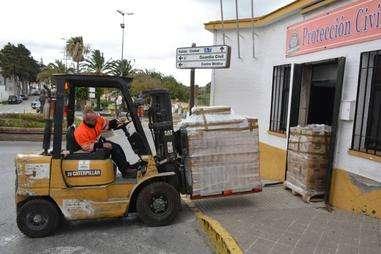El personal de seguridad de San Roque, libre de Covid