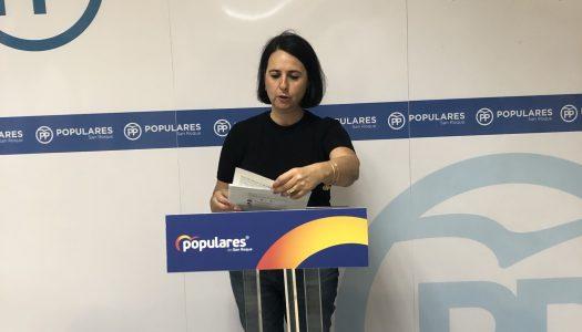 El PP sanroqueño critica la falta de proyectos por parte del Gobierno municipal