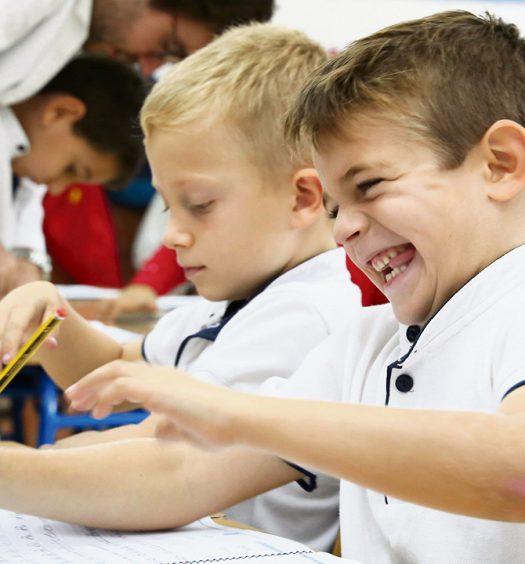Alumnos colegio Puertoblanco-Montecalpe