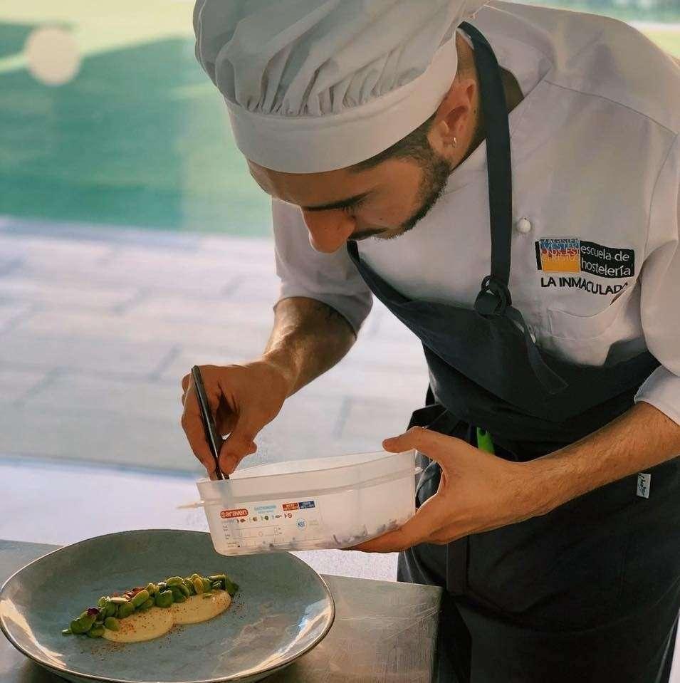 Adrián Calvente, chef