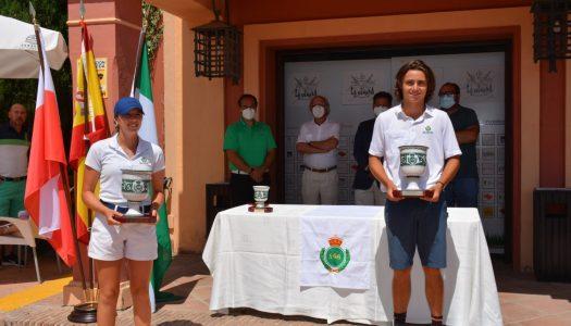 Mueller y Albertazzi, campeones de Andalucía en el Club de Golf La Cañada