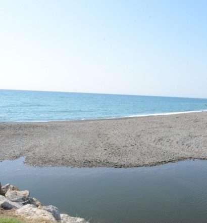 Desembocadura del río Guadiaro