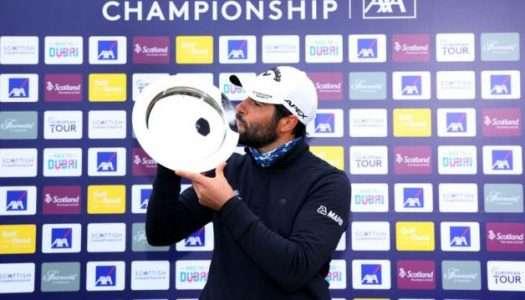 Adrián Otaegui vence en el Scottish Championship