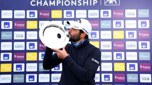 Adrián Otaegui. FOTO: European Tour