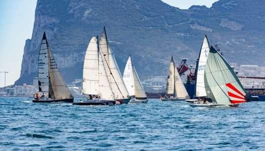 Emoción en aguas del Estrecho con el Campeonato Interclubes