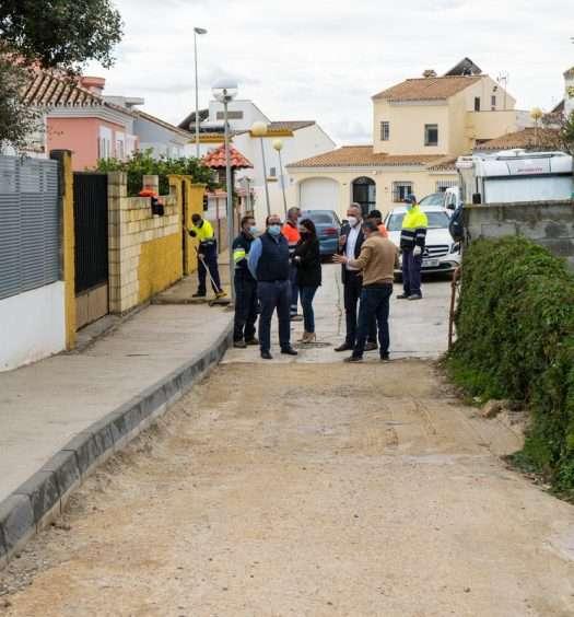 Asfaltado en Torreguadiaro