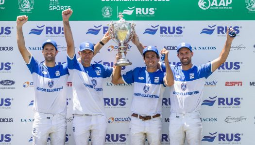 Ellerstina gana en Hurlingham y sigue imparable hacia la Triple Corona