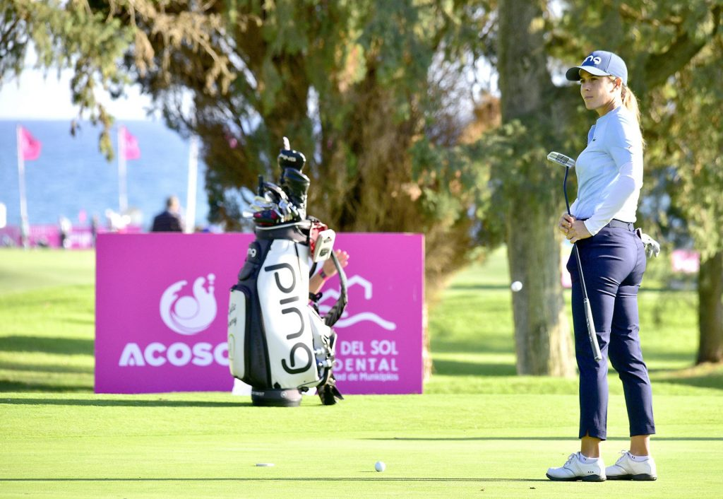 Azahara Muñoz, en el Andalucía Costa del Sol Open de España