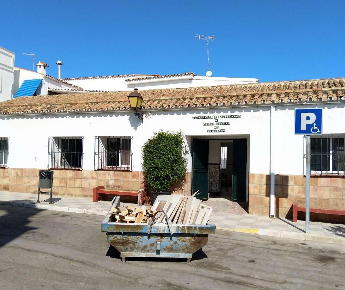 Pensionista en Guadiaro