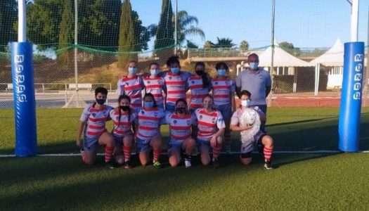 Buen papel de las chicas del Holmes Sotogrande Rugby, en el Torneo de Promoción