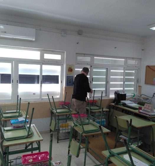 Ventanas aulas