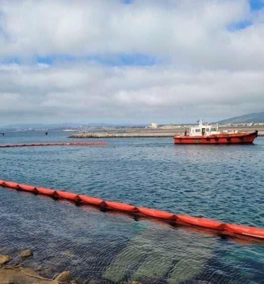 Vertido Gibraltar 2021