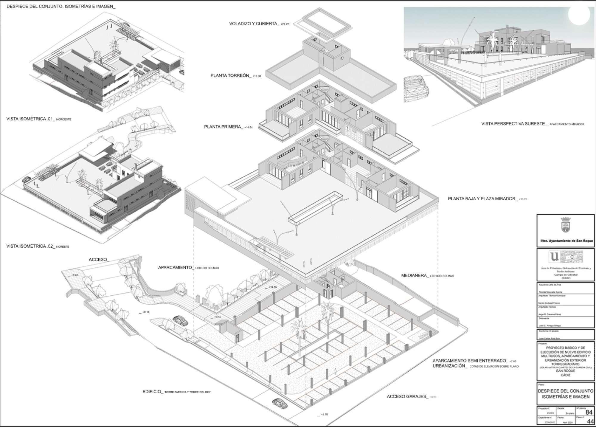 Nuevo edificio Torreguadiaro