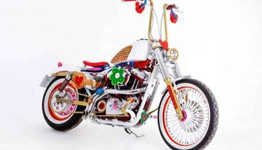 Descubre la inimitable Harley Davidson 'aghatizada'