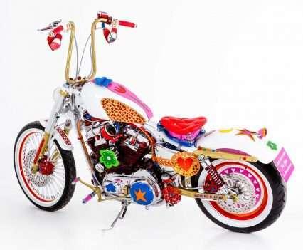 Harley Davidson 'aghatizada'