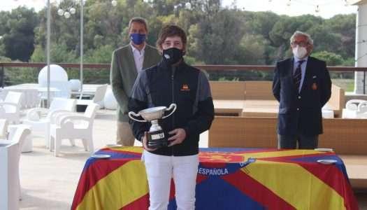 Jacobo Cestino conquista el Internacional de España Individual Senior de Golf
