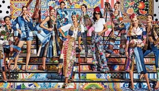 Dolce & Gabbana y el total jeans look