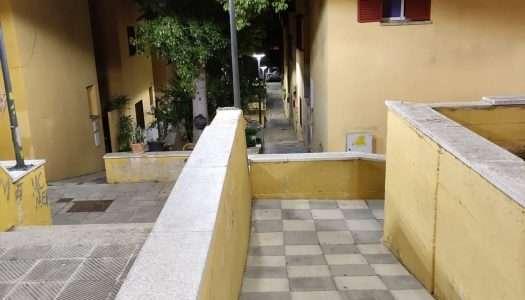 Nuevo mobiliario urbano y luces led, para Guadiaro