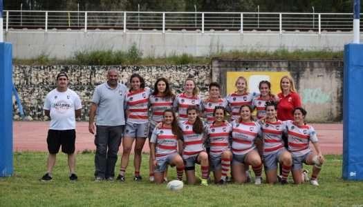 """Las """"leonas"""" del Holmes Sotogrande Rugby llegan a la Serie A del Sevens"""