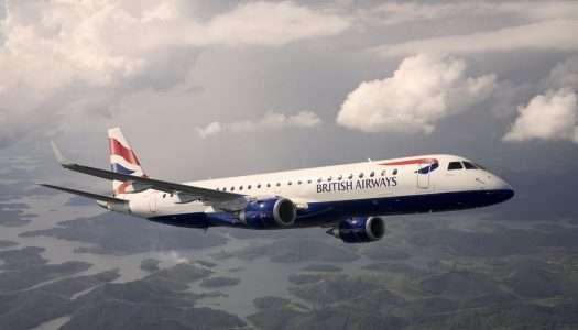British Airways lanza nuevos vuelos de London City a Jersey y Gibraltar