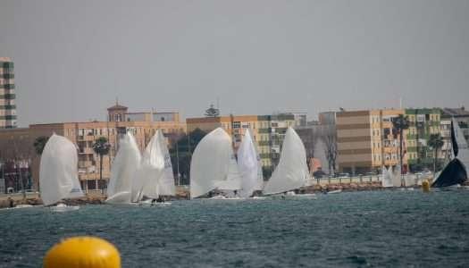 Este fin de semana, Campeonato de España de J/80 en aguas de la Bahía