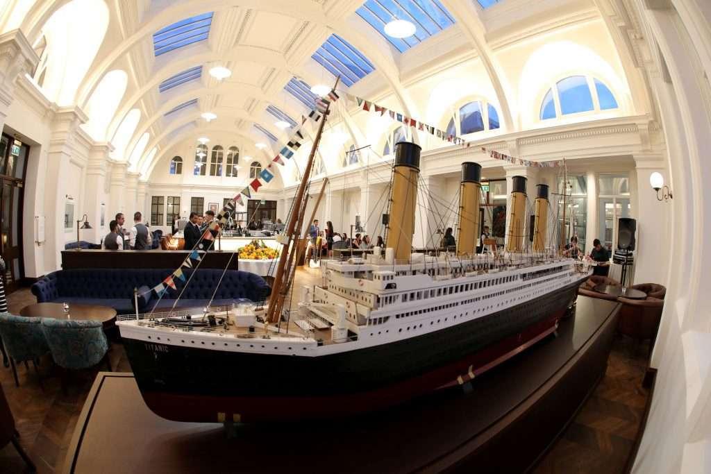 Titanic Hotel interior