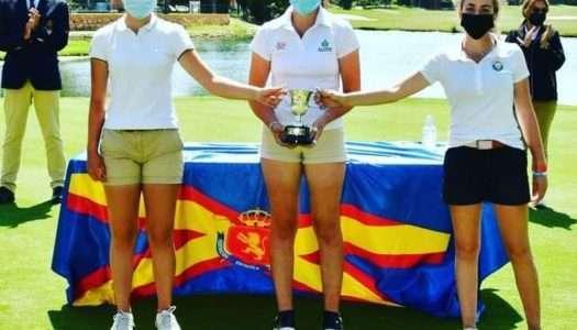 La golfista de La Cañada Julia Sánchez, subcampeona de España Sub 16