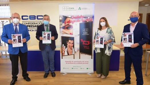 Supermercados Ruiz Galán participa en una iniciativa para reactivar el sector de la perfumería