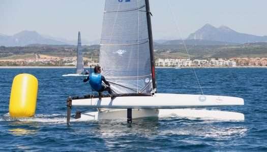 Sotogrande acoge la Copa de Andalucía de catamaranes