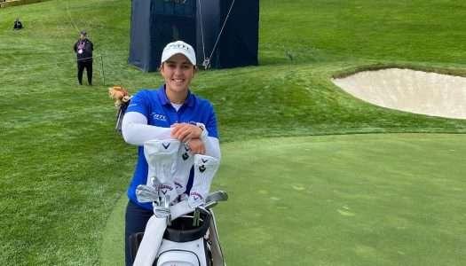 María Parra, mejor española en el US Open de Golf