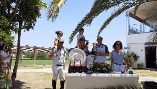 Nalu Pulu y Rhone Hill alzan trofeos de polo en Sotogrande