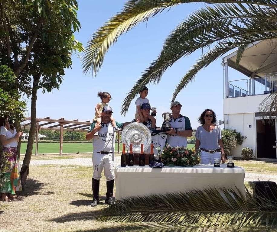 María de las Mercedes y Andrés Parladé, Polo 2021