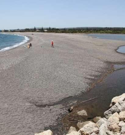 Desembocadura río Guadiaro - Julio 2021