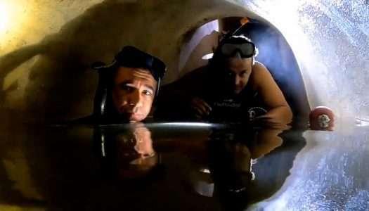 Un grupo de 'youtubers' descubre una galería oculta en un búnker de Sierra Carbonera