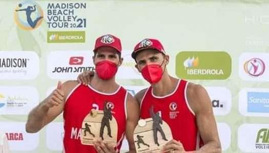 Herrera y Gavira, vencedores del Campeonato de España de Vóley Playa