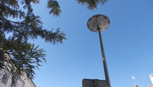 Eficiencia Energética actualiza 36 luminarias en Pueblo Nuevo