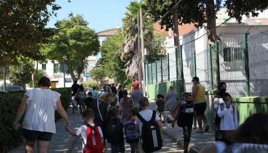 Arranca el curso escolar 2021/2022 en el Valle de Guadiaro