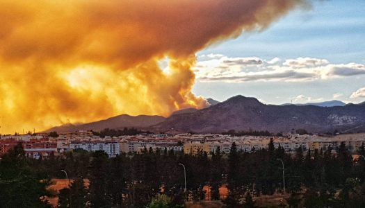 Especialistas de Quirónsalud advierten de la toxicidad del humo de incendios forestales