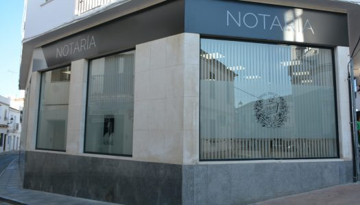 Apertura de la nueva notaría en San Roque